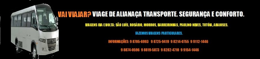 ALIANÇA TRANSPORTE