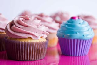 Cupcakes de mascarpone y frutos rojos