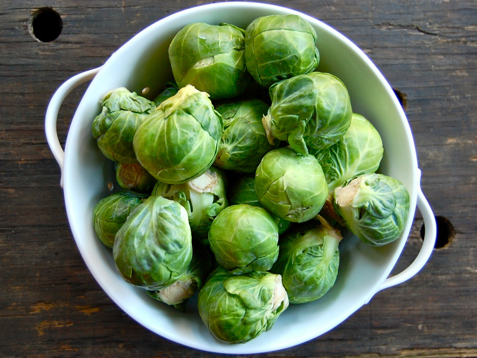 Lady Gouda: Zesty Brussels Sprouts with Shallots and Cranberries