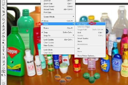 Mengaktifkan Fasilitas Layer Edges