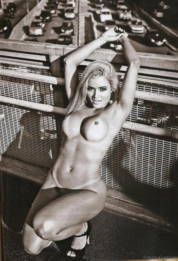 Revista Playboy Divulgou Novas Imagens Da E Panicat Aryane Steinkopf