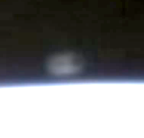 UFO Caught Keeping Up With The Space Station, UFO Sightings