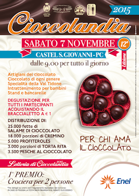 Cioccolandia 7 novembre Castel San Giovanni