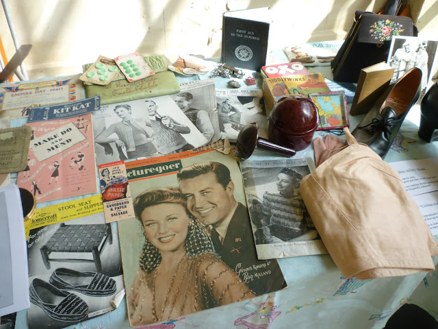 kedleston at war via lovebirds vintage