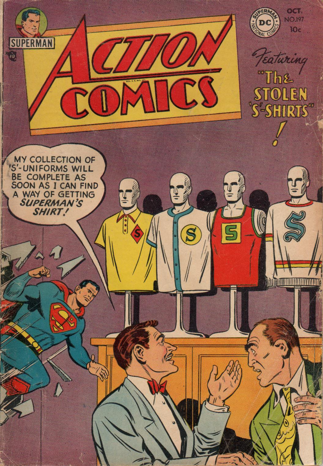 Action Comics (1938) 197 Page 1