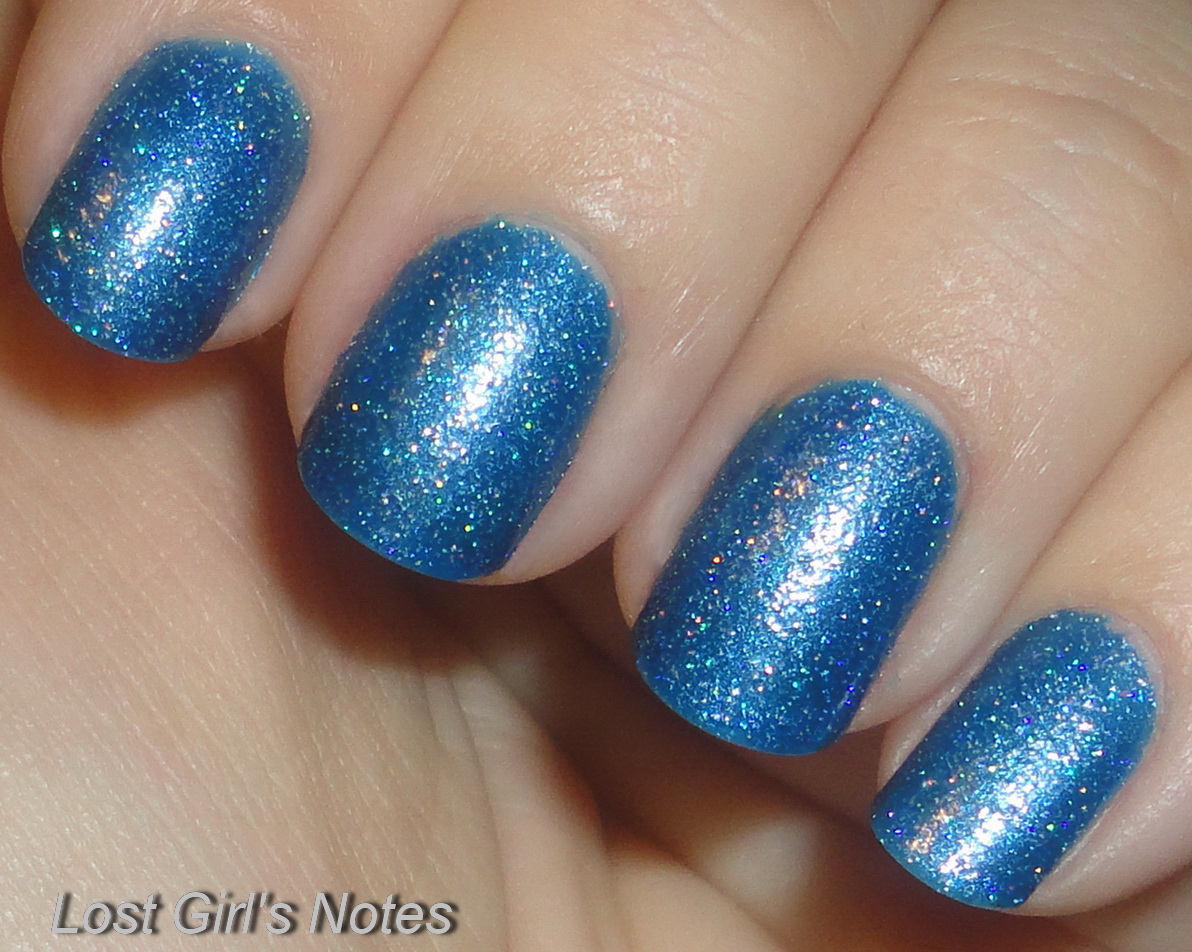 Nicole by OPI Me+Blue ~ Lost Girl\'s Notes