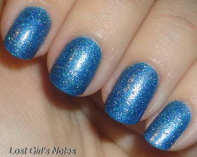 Nicole by OPI Me+Blue nail polish swatches and review