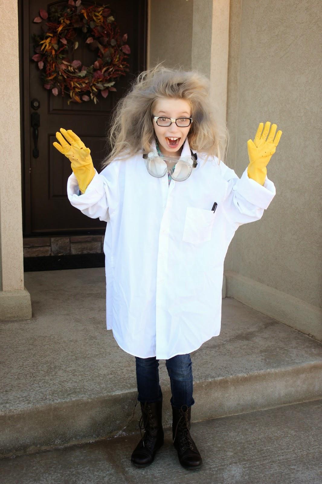 Halloween Mad Scientist Girl Wwwtopsimagescom