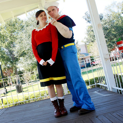 Popeye y Olivia Costume Ideas