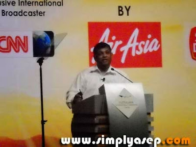 Datok Toni Fernandes CEO Air Asia
