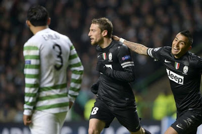 Celtic-Juventus 0-3 highlights