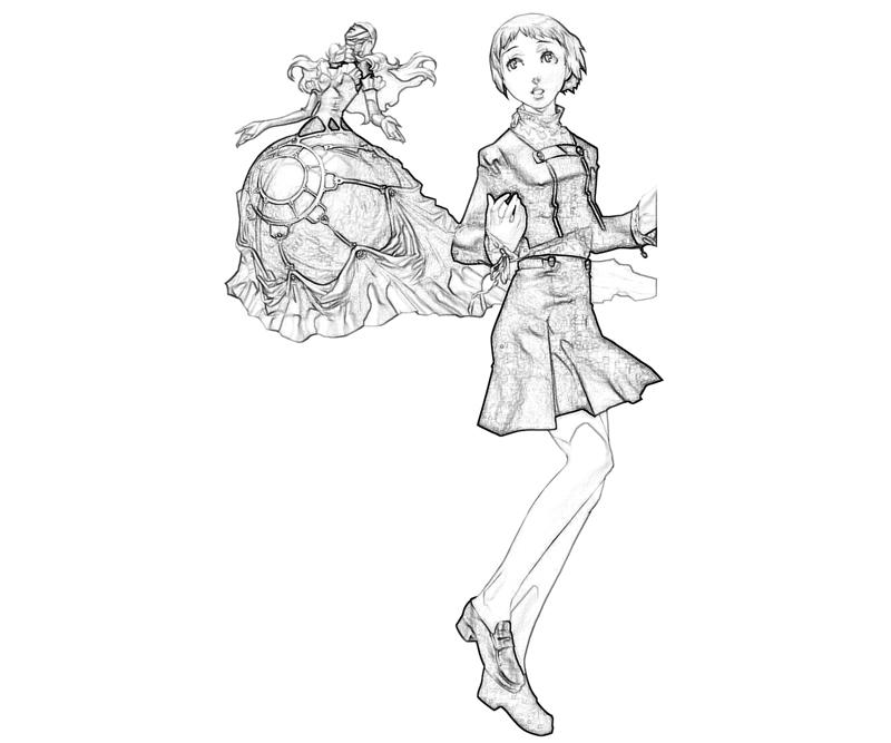 persona-4-arena-fuuka-yamagishi-abilities-coloring-pages