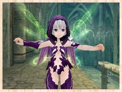 魔結晶の鎧・紫1