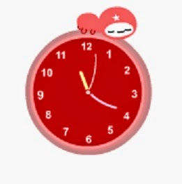 Blog Free Widgets Cute Animation Clock