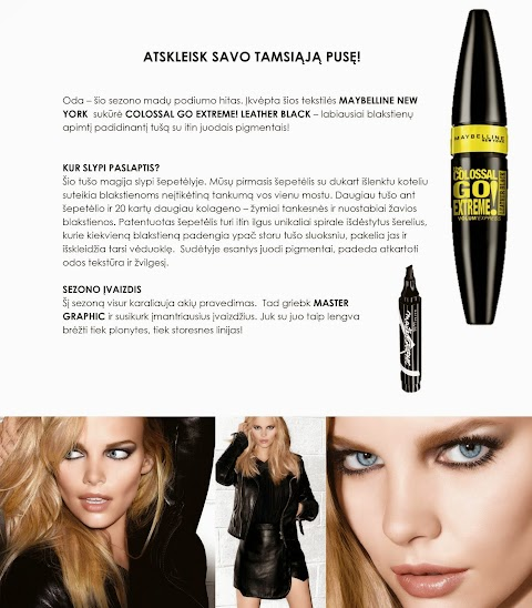 Maybelline the Colossal go extreme! (anonsas)