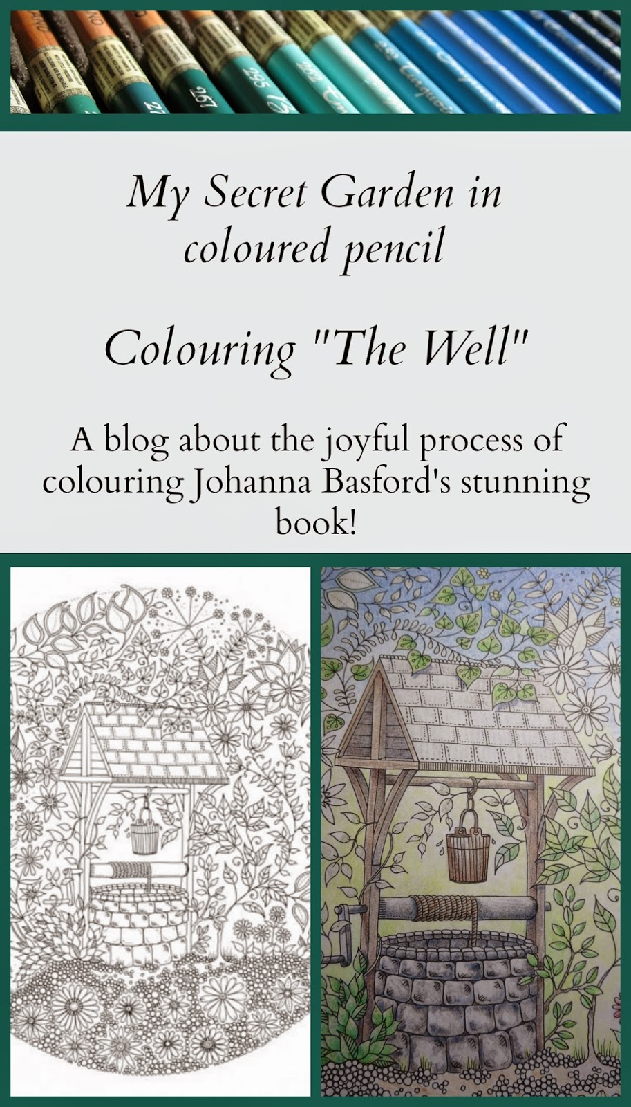 My Secret Garden Colouring Book Part 2 Support Passion For Pencils