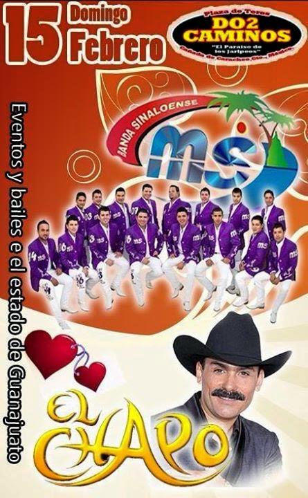 15 de febrero baile banda ms guanajuato
