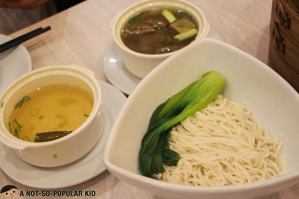 Noodles with Double-Boiled Beef Soup - Shi Lin
