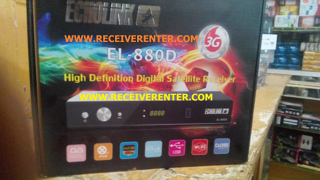 ECHOLINK EL-880D HD RECEIVER BISS KEY OPTION