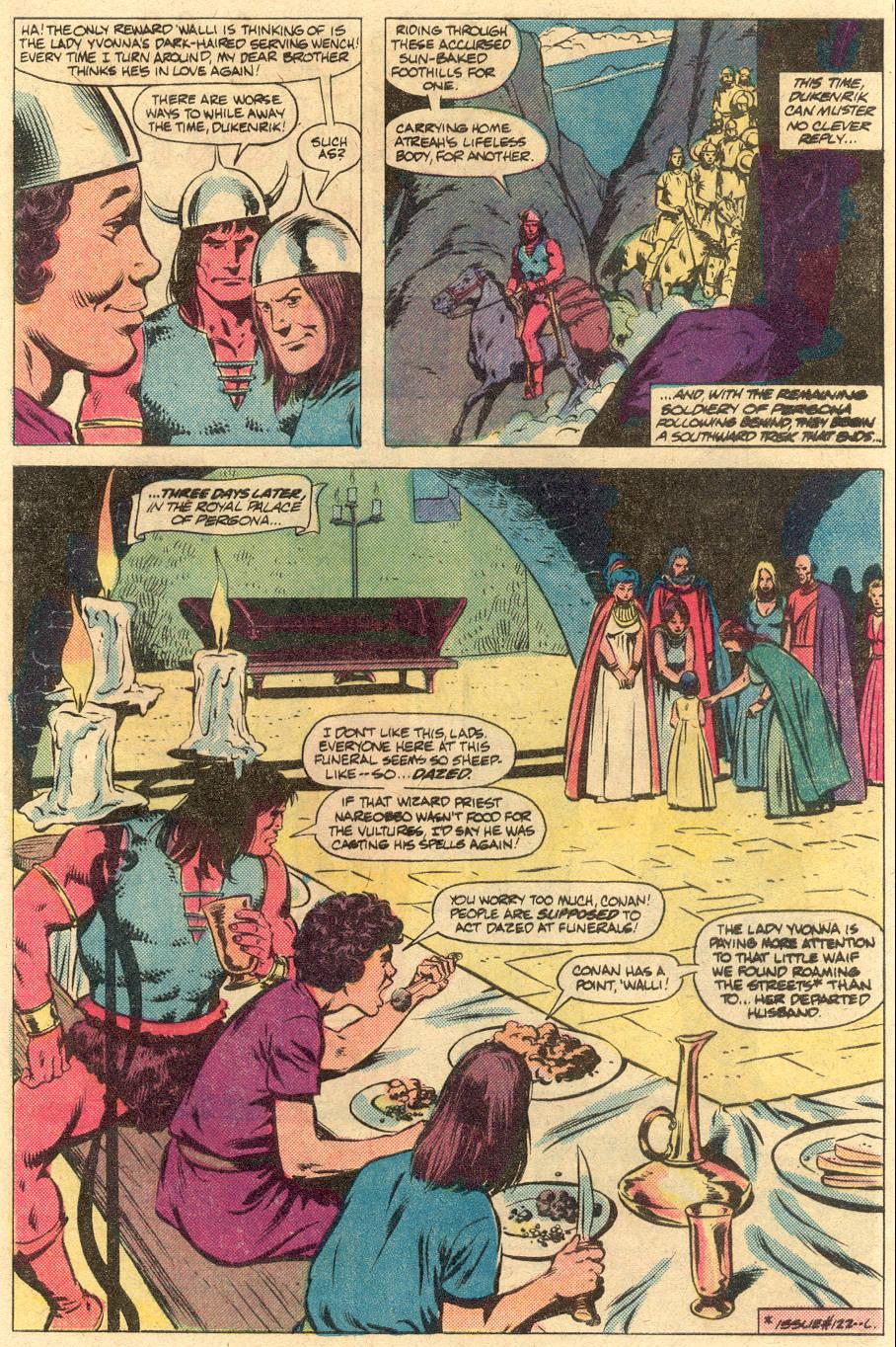 Conan the Barbarian (1970) Issue #125 #137 - English 4