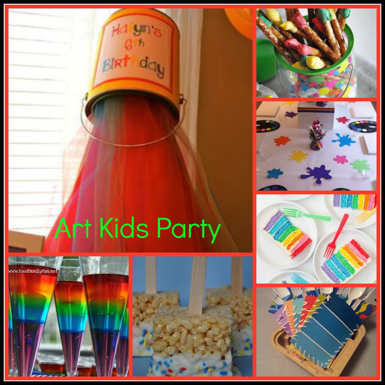 Art Party Ideas Art Party Ideas