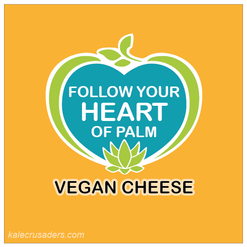 Follow Your Heart of Palm Vegan Cheese, Palm Heart, Chonta, Palm Cabbage, Swamp Cabbage