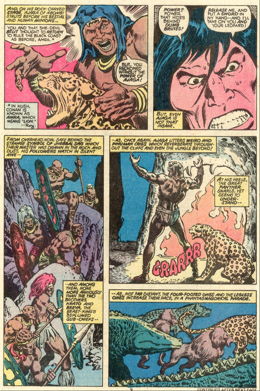 Conan the Barbarian (1970) Issue #97 #109 - English 4