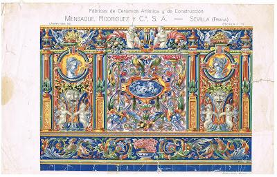 Alfonso orce barroco seg n sevilla en azulejos for Azulejos antiguos sevilla