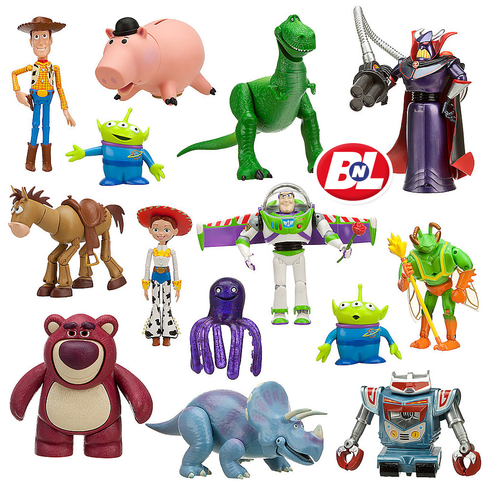 Toy Story Toys : Welcome on buy n large toy story deluxe action figure set