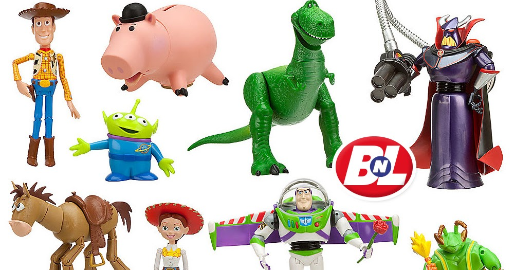 Toy Story Action Figures Set : Welcome on buy n large toy story deluxe action figure set