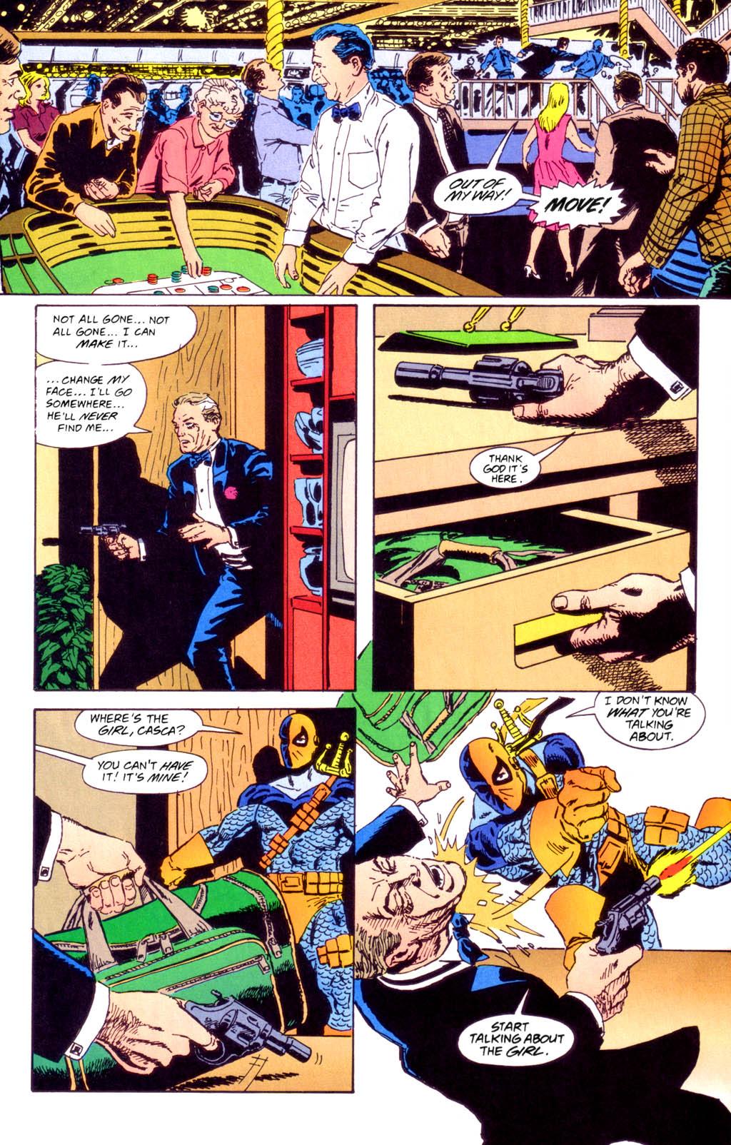 Deathstroke (1991) Issue #40 #45 - English 21