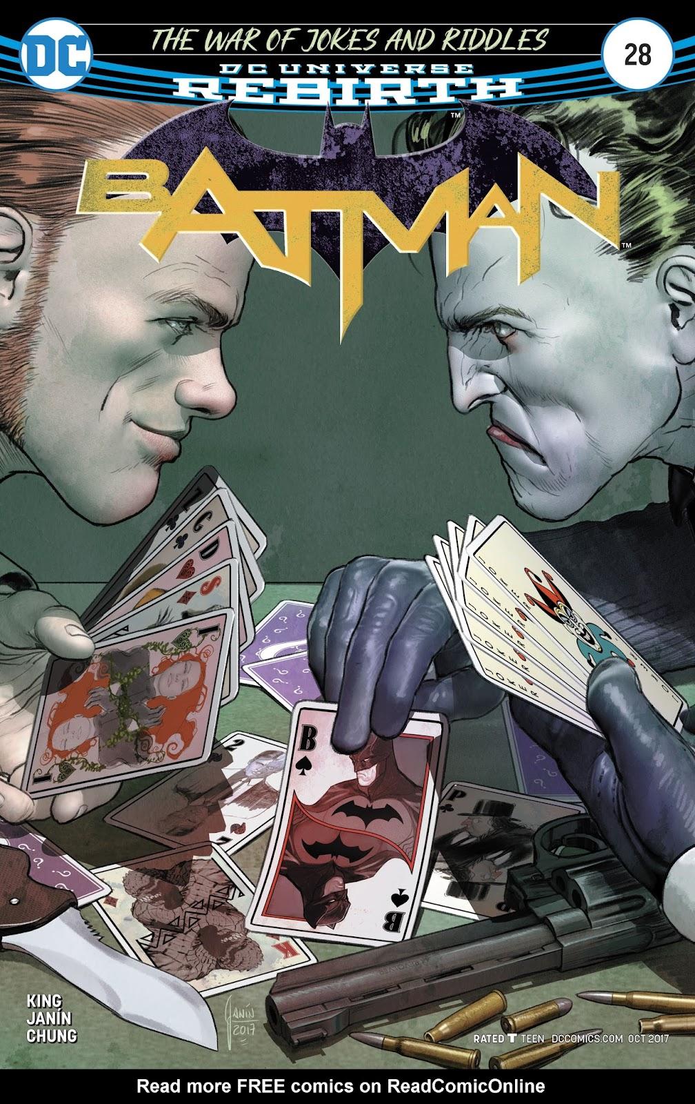 Batman (2016) 28 Page 1