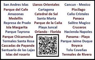 Muchos destinos turisticos