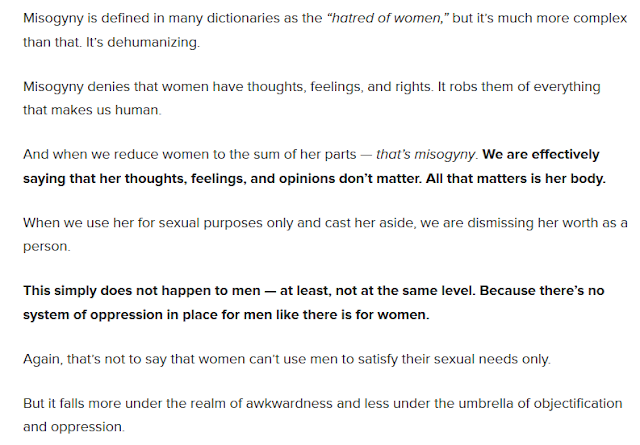 http://everydayfeminism.com/2014/07/men-objectified-by-women/