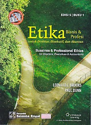 toko buku rahma: buku ETIKA BISNIS DAN PROFESI, Buku 1, pengarang leonard j. brooks, penerbit salemba empat