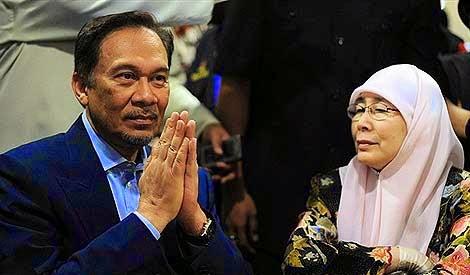 Dr Wan Azizah Menteri Besar Selangor