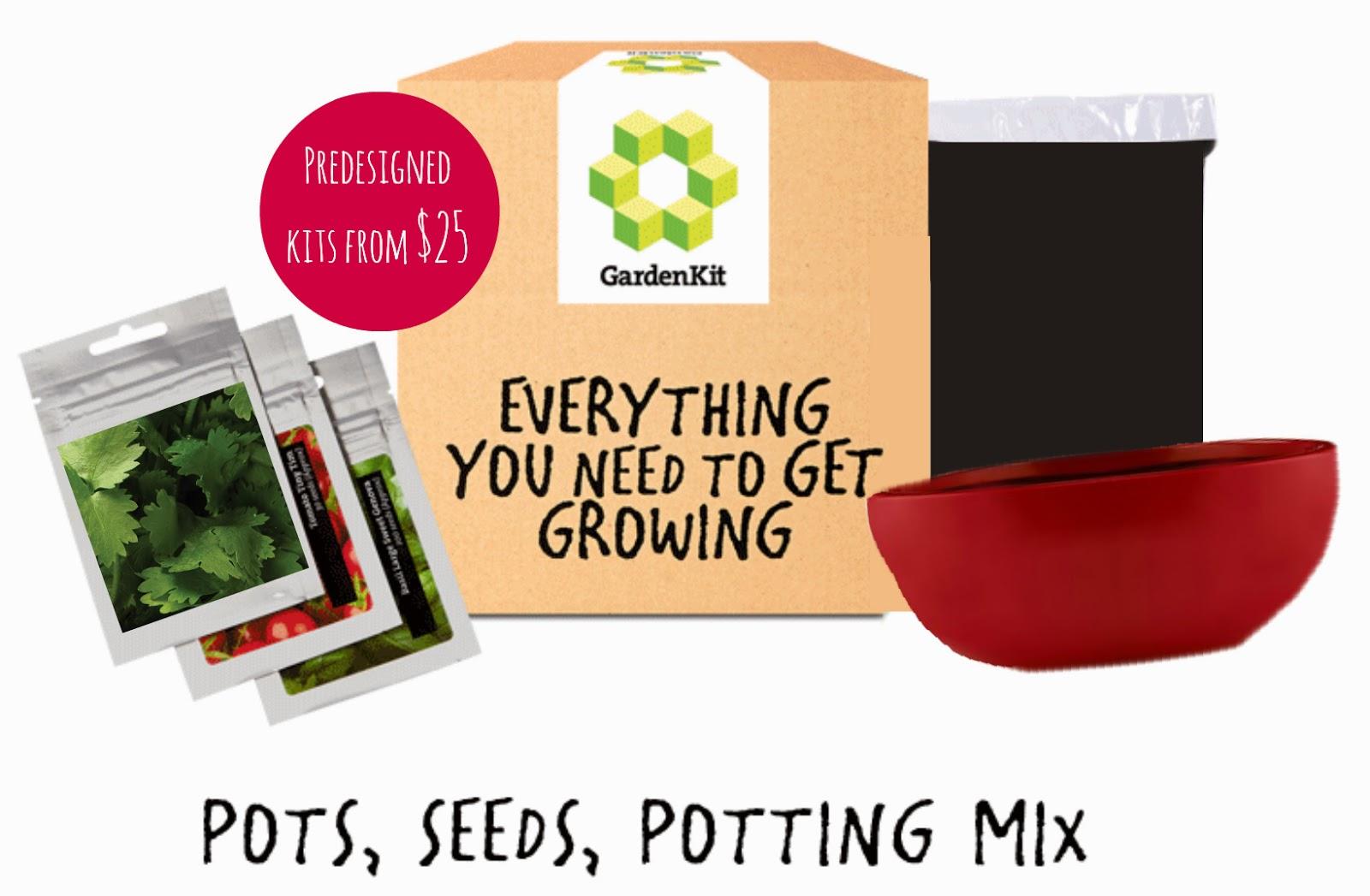 GardenKit Herb Garden Kit