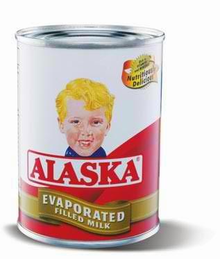 Alaska filled milk