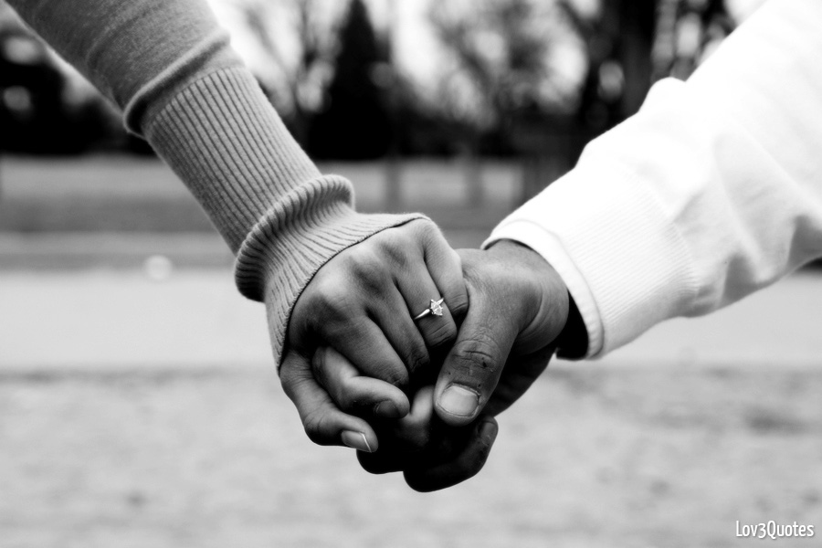 LOV3Quotes: Holding Hand Love Quote