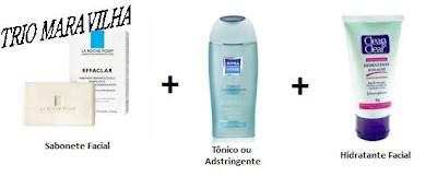 produtos para cuidados com a pele