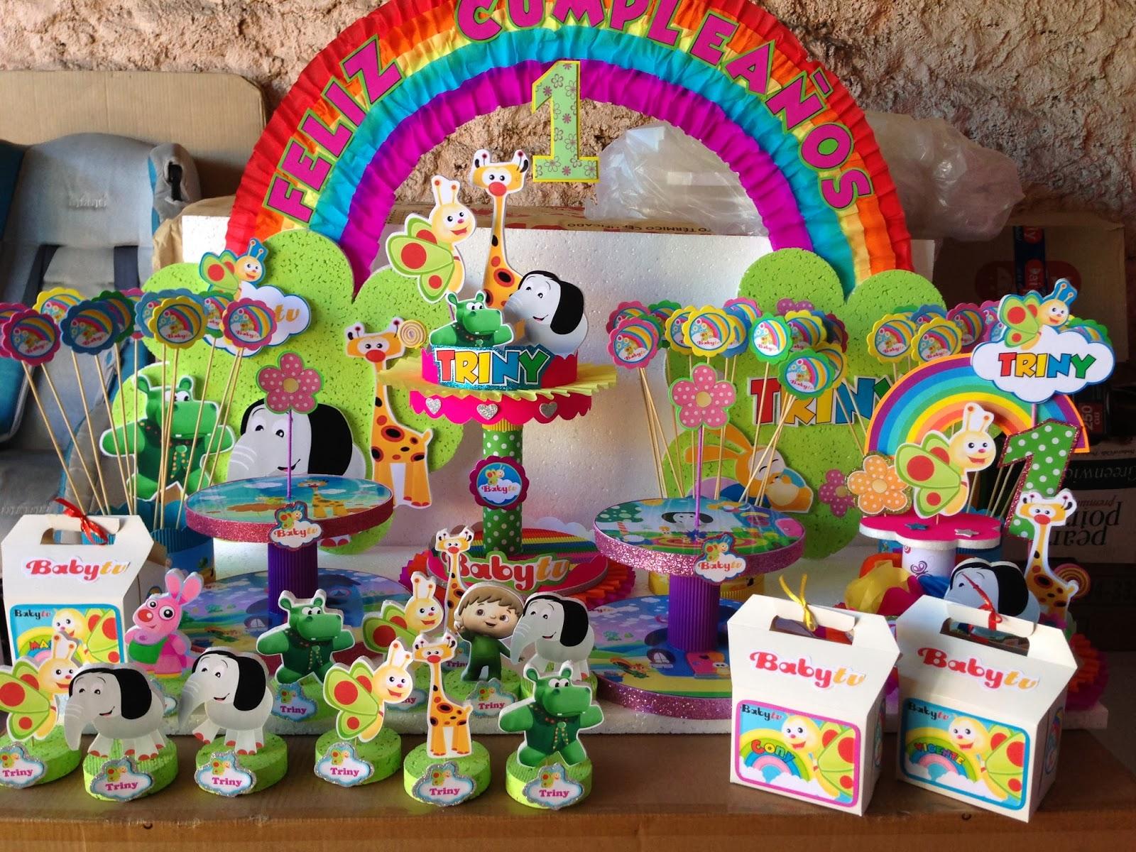 Decoraciones infantiles baby tv for Decoraciones infantiles