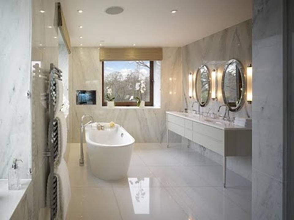 Bathroom: Marbel Luxury Bathroom