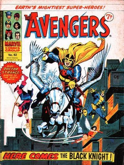 Marvel UK Avengers #62, the Black Knight