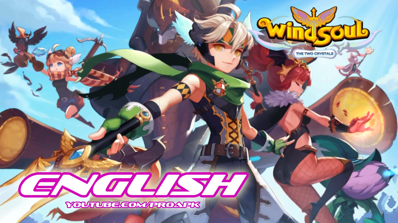 LINE Wind Soul English Gameplay IOS / Android