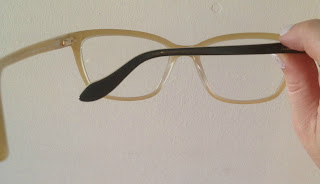 Vivienne Westwood blonde glasses