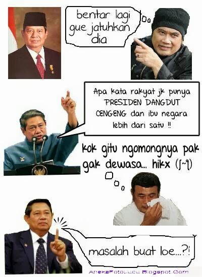 Dialog SBY Dengan Rhoma Irama