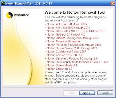 Norton Removal Tool 2011.0.5.13
