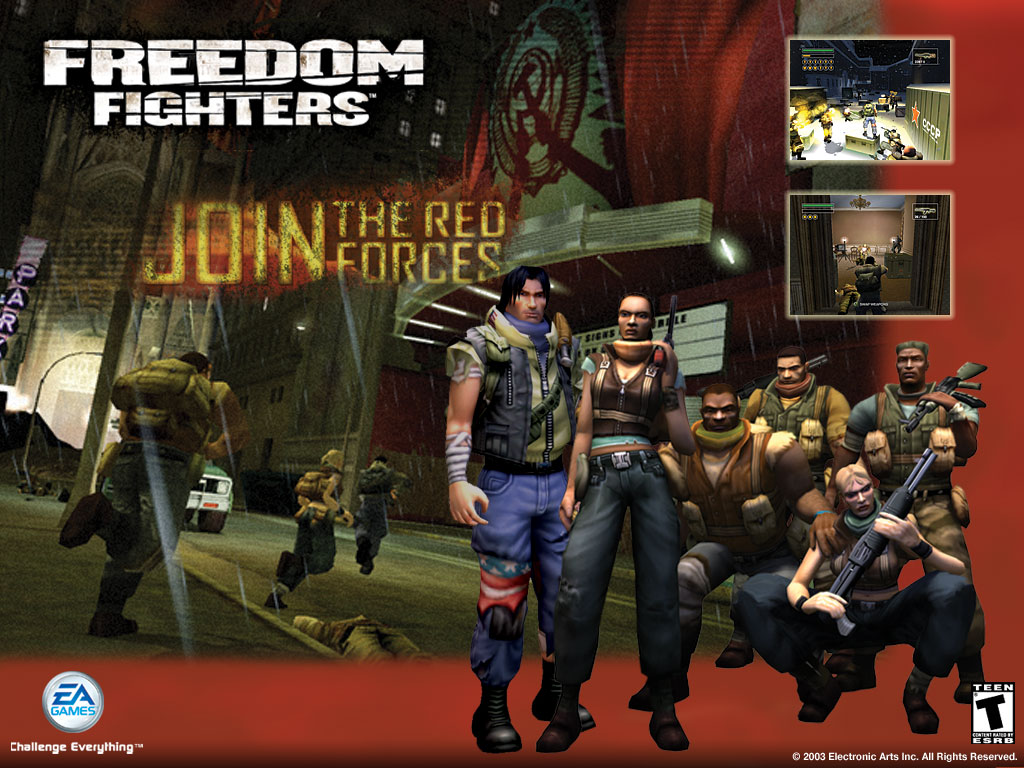 Freedom Fighters Wallpapers Free Download Freedom Fighters 1 Free