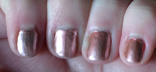 Models Own chrome rose swatches