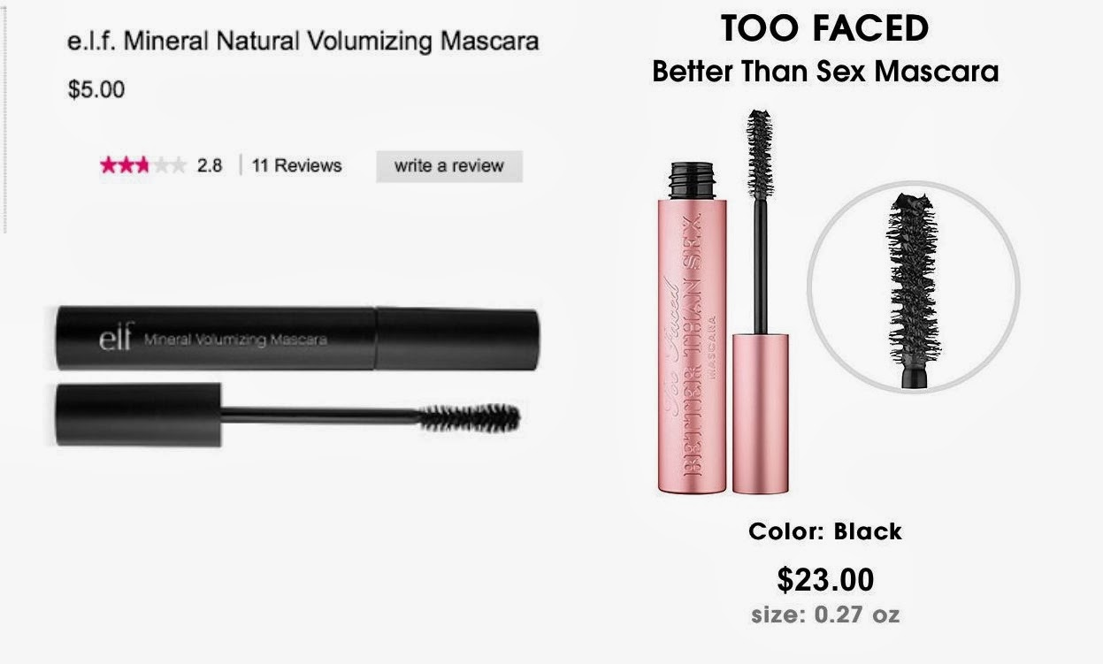 Better than sex mascara dupe picture 544